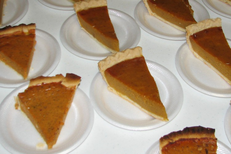 Pumpkin Pie Outreach
